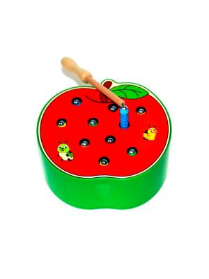 HTA-123 Игровой набор «Яблоко Поймай червячка»