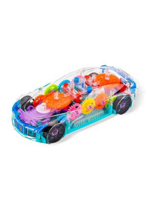 Прозрачная машинка Сoncept Racing со световыми и музыкальными эффектами