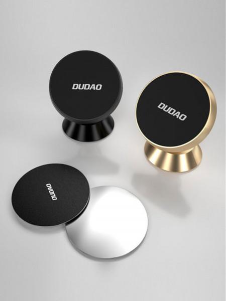 Автомобильный магнитный держатель универсальный для смартфона DUDAO F6H, черный